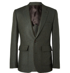 Hardy Amies Slim-Fit Wool Blazer