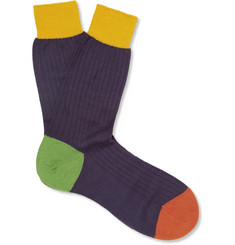 Richard James Wool-Blend Socks