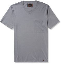 Hanro Cotton-Jersey V-Neck T-Shirt