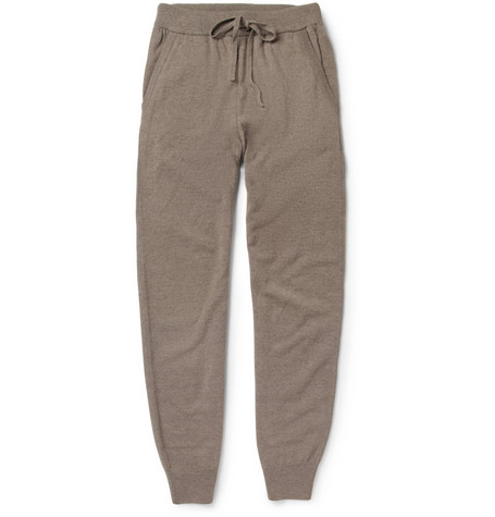Hanro Merino Wool and Cashmere-Blend Sweatpants