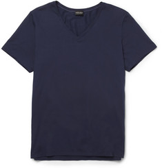 Hanro Mercerised Cotton-Blend T-Shirt