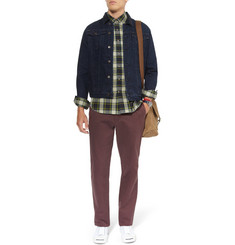 J.Crew Broken In Relaxed-Fit Cotton Trousers
