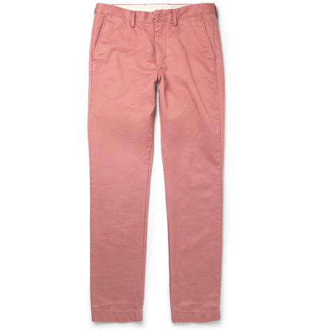J.Crew Broken In Regular-Fit Brushed-Cotton Chinos