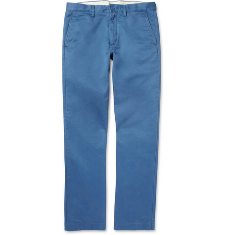J.Crew Broken In Regular-Fit Cotton Trousers