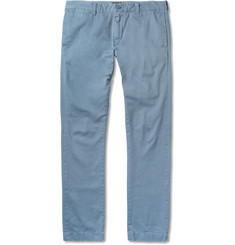 J.Crew 484 Slim-Fit Brushed-Cotton Chinos