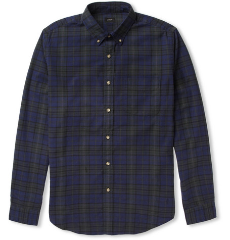 J.Crew Plaid Cotton Shirt
