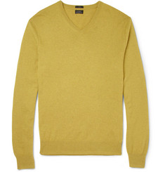J.Crew V-Neck Cashmere Sweater