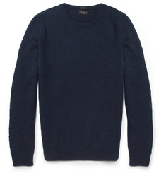 J.Crew Slub Merino Wool Crew Neck Sweater