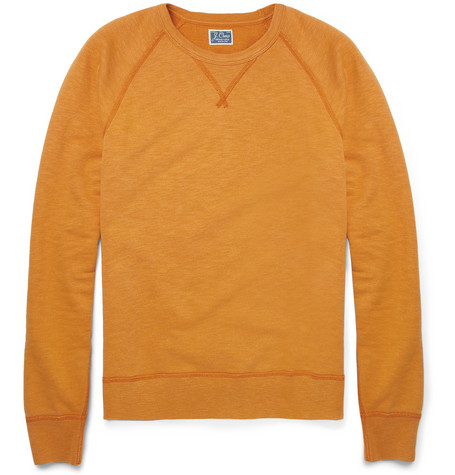 J.Crew Loopback Cotton-Jersey Sweatshirt