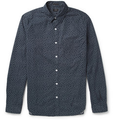 J.Crew Indigo-Printed Cotton Shirt