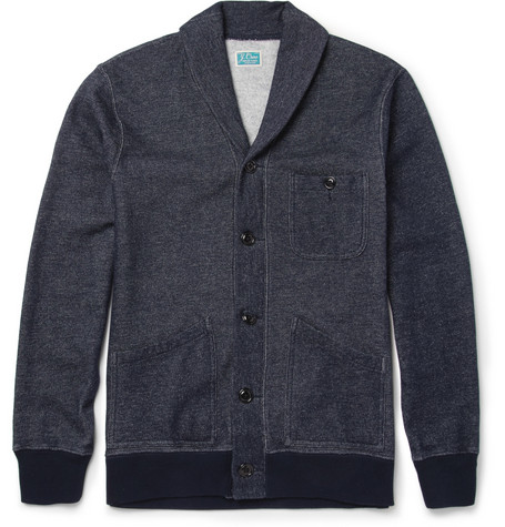 J.Crew Cotton-Blend Jersey Cardigan