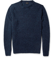 J.Crew Flecked Wool-Blend Sweater