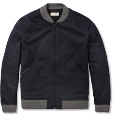 J.Crew Wallace & Barnes Cotton-Twill Bomber Jacket