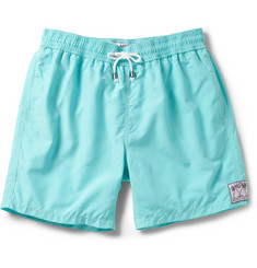 Pink House Mustique Mid-Length Swim Shorts