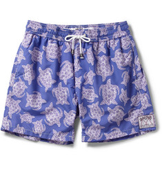 Pink House Mustique Mid-Length Printed Swim Shorts