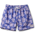 Pink House Mustique - Mid-Length Printed Swim Shorts