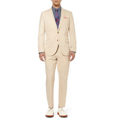 J.Crew Stone Ludlow Cotton Suit Jacket
