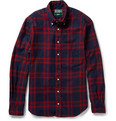 Gitman Vintage Check Cotton-Flannel Shirt