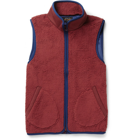 Beams Plus Fleece Gilet