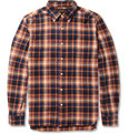 Beams Plus - Plaid Cotton-Flannel Shirt