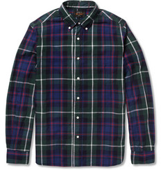 Beams Plus Button-Down Collar Check Cotton Shirt