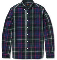 Beams Plus - Button-Down Collar Check Cotton Shirt