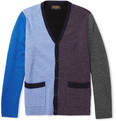 Beams Plus - Panelled Wool-Blend Cardigan