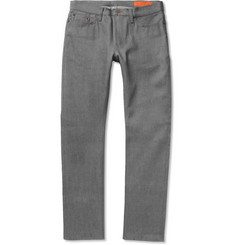Jean Shop Slim-Fit Selvedge Dry Denim Jeans