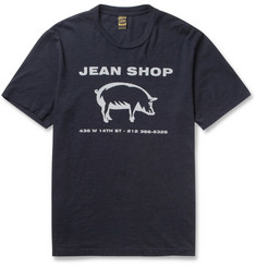 Jean Shop Printed Cotton-Jersey T-Shirt