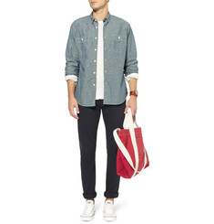 Beams Plus Cotton-Canvas Tote Bag