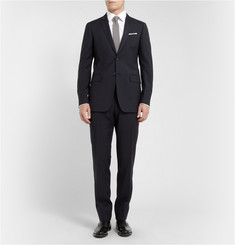 Burberry London Navy Slim-Fit Wool Suit