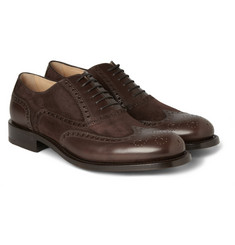 O'Keeffe Andriu Leather and Suede Brogues