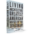 Assouline - Living Architecture: Greatest American Houses of the 20th Century by Dominique Browning and Lucy Gilmour Hardcover Book