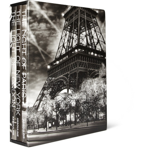 Assouline The Light of Series Set of 3 Hardcover Books by Jean-Michel Berts