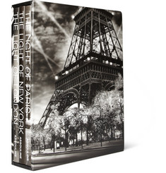 Assouline The Light of Series Set of 3 Books by Jean-Michel Berts