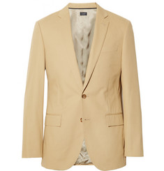 J.Crew Beige Ludlow Cotton Suit Jacket