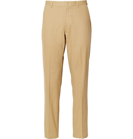 J.Crew Beige Ludlow Cotton Suit Trousers