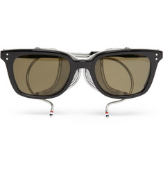 Thom Browne Square-Frame Acetate Sunglasses