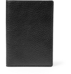 Smythson Gresham Full-Grain Leather Passport Cover