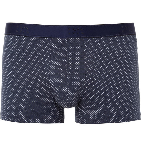 Derek Rose Dot-Print Pima Cotton-Blend Boxer Briefs