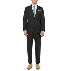 J.Crew Grey Ludlow Wool Suit Jacket