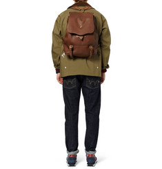 Bill Amberg Hunter Leather Backpack