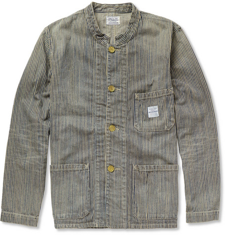 Neighborhood Striped Cotton Jacket
