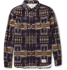 Neighborhood Printed Corduroy Shirt
