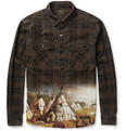 Neighborhood - Printed Corduroy Shirt