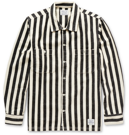 Neighborhood Striped Cotton Shirt