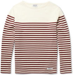 Neighborhood Boat-Neck Striped Cotton-Jersey T-Shirt