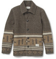 Neighborhood - Patterned Quilted Wool-Blend Jacket