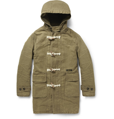 Neighborhood Washed-Cotton Duffle Coat