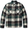 Neighborhood - Plaid Cotton-Flannel Shirt